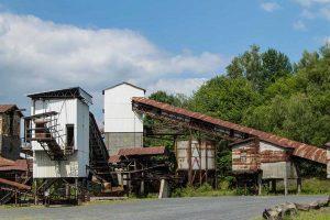 Historische Industrieanlage