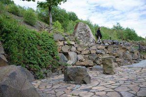 Weg im Kräutergarten