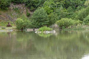 """Eine kleine Insel im """"Stöffelsee"""""""