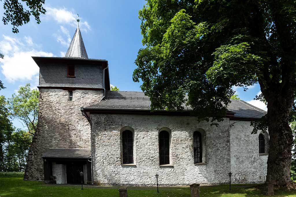 """die """"neue Kirche"""" in Stein-Neukirch"""