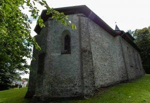 """Die """"neue Kirche"""" - Rückseite"""