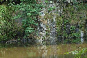 Der kleine See in der Bacher Lay