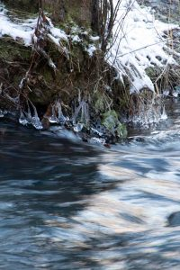 Eis am Nisterufer