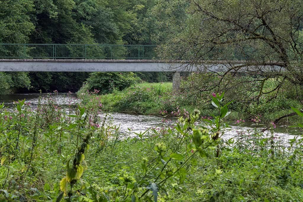Brücke über die Nister auf dem Weltende-Weg