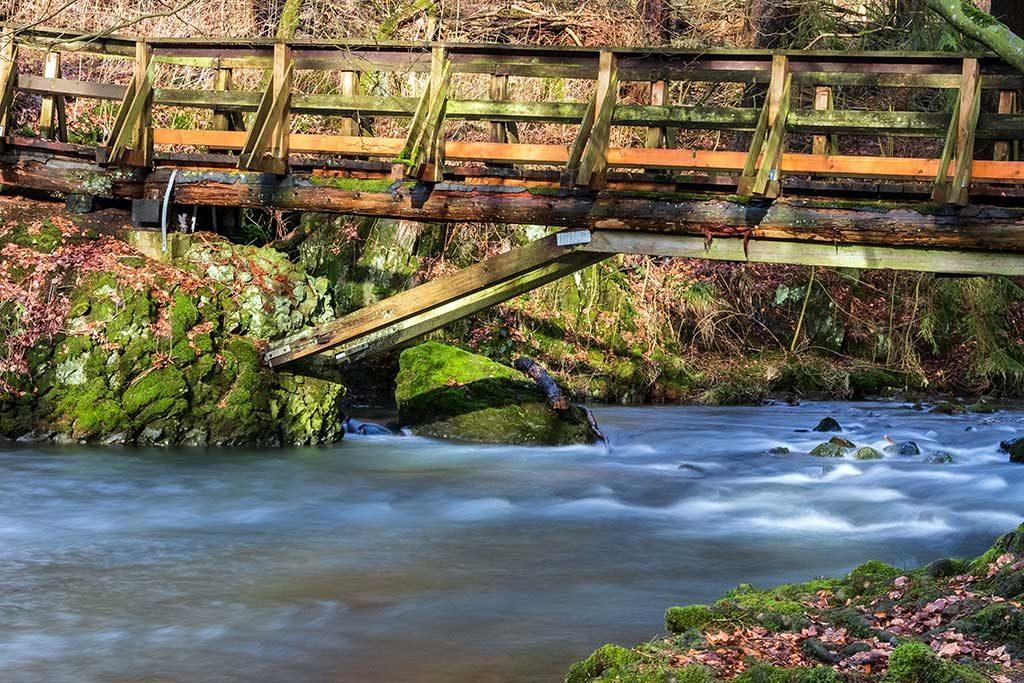 Brücke am schwarzen Pfuhl