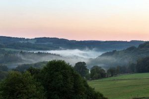 Das Nistertal im Nebel