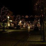 Die Bismarckstraße zur Weihnachtszeit