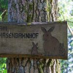 Namensschild Hasenbahnhof
